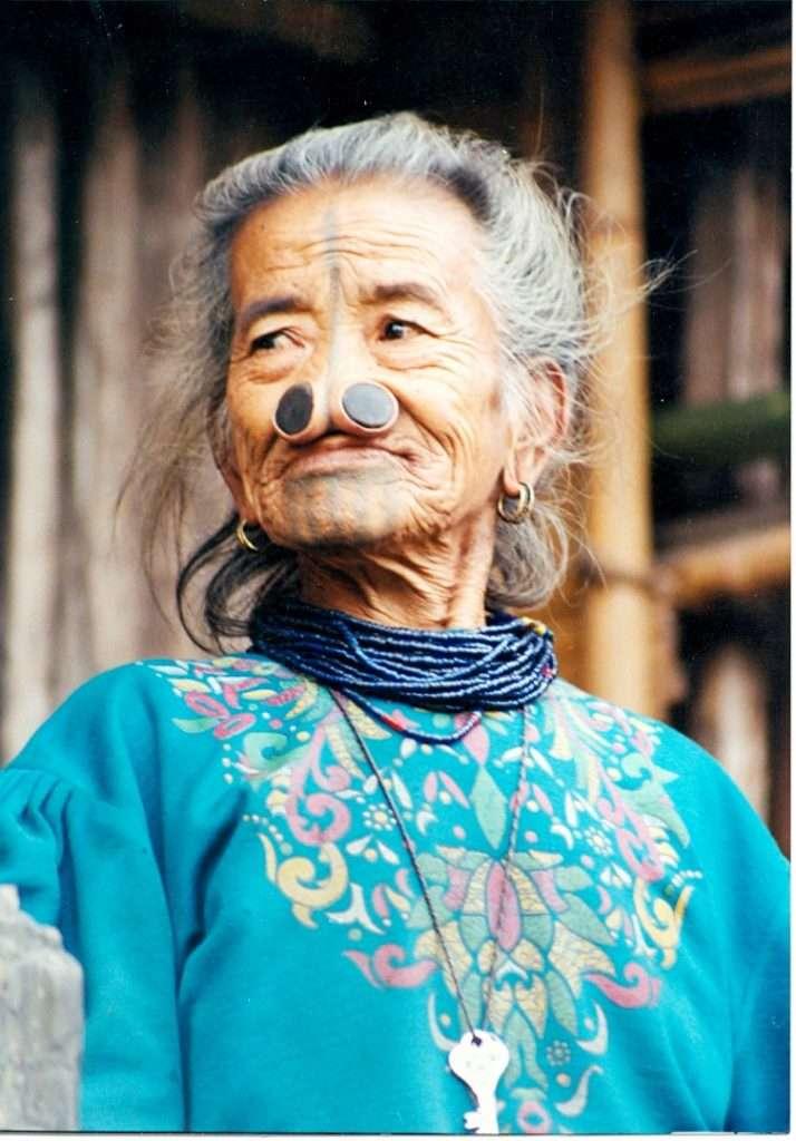Apa Tani Woman, Reru Village, Arunachal Pradesh, 2000 (Large)