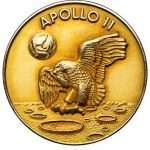 Nil Armstrong's personally-owned gold medal,